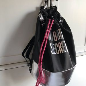 Victoria's Secret Drawstring Backpack